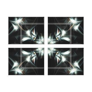 Estrela de Deco Impressão Em Tela
