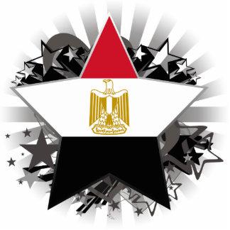 Estrela de Egipto Foto Escultura