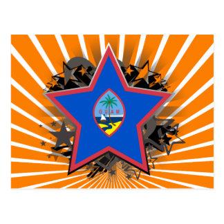 Estrela de Guam Cartão Postal