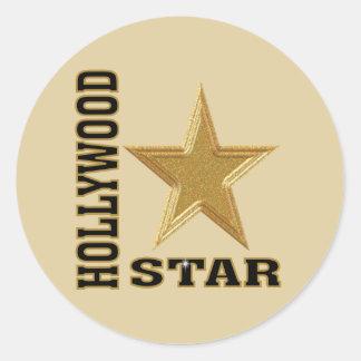 Estrela de Hollywood Adesivo