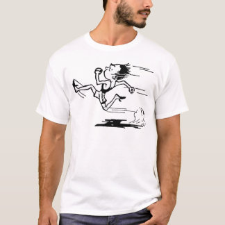 Estrela de trilha camiseta