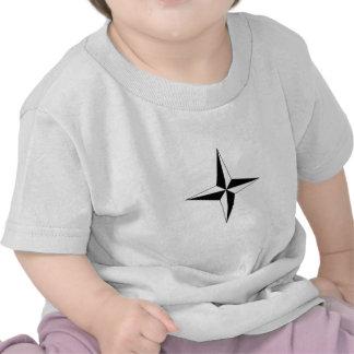 Estrela do compasso tshirt