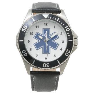 Estrela do EMS da vida Relógio De Pulso