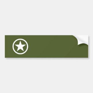 Estrela do exército adesivos
