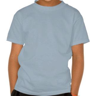 Estrela do rock, azul, design preto e branco t-shirt