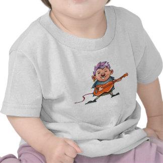 Estrela do rock bonito t-shirt