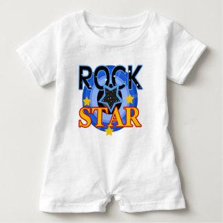 Estrela do rock com CD azul Camisetas