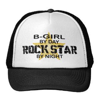 Estrela do rock da B-Menina em a noite Boné
