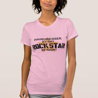 Estrela do rock do cabeleireiro em a noite tshirts