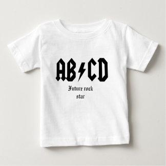 Estrela do rock do futuro de ABCD Camisetas