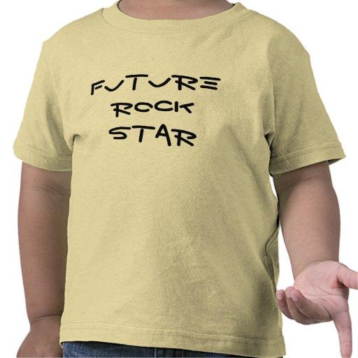Estrela do rock futura camisetas