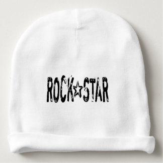 Estrela do rock gorro para bebê