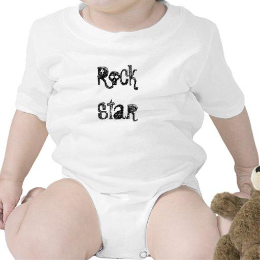 Estrela do rock macacãozinho