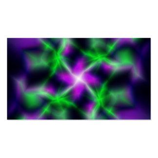 Estrela elétrica cartão de visita
