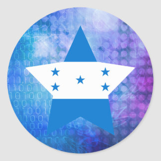 Estrela legal da bandeira de Honduras Adesivo