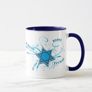 Estrela legal de David & caneca do azul das