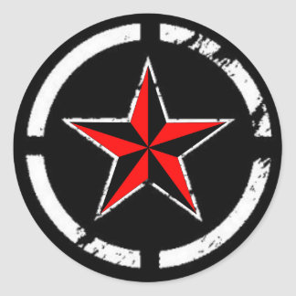 estrela náutica adesivo