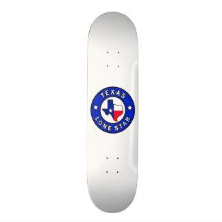Estrela solitária de Texas Shape De Skate 18,1cm
