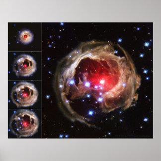 Estrela Supergiant V838 Monocerotis 20x16 (20x16) Impressão