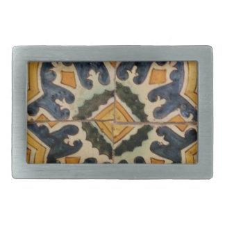 Estrela turca do amarelo do azulejo do vintage do