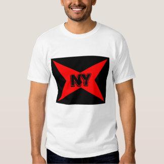 estrela vermelha NY Camiseta