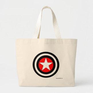 Estrela visada bolsas para compras