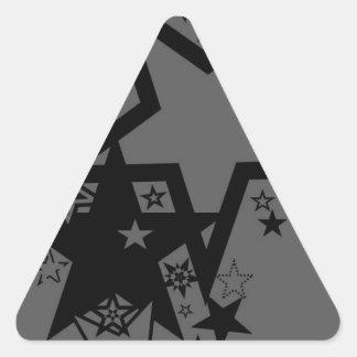 Estrelas Adesivo Triangular