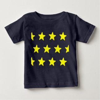 Estrelas Camiseta Para Bebê