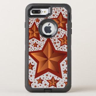 estrelas capa para iPhone 8 plus/7 plus OtterBox defender