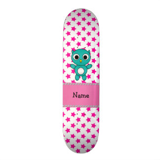 Estrelas conhecidas personalizadas do rosa da coru skate