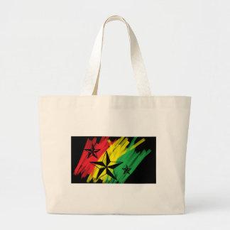 estrelas da reggae sacola tote jumbo
