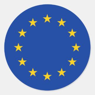 Estrelas da União Europeia Adesivo