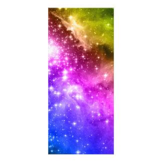 Estrelas do arco-íris 10.16 x 22.86cm panfleto