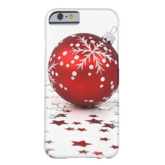 Estrelas do feriado do Natal Capa Barely There Para iPhone 6