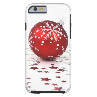 Estrelas do feriado do Natal Capa Tough Para iPhone 6