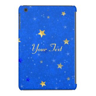 Estrelas do ouro do céu azul capa para iPad mini retina
