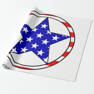 Estrelas dos EUA Papel De Presente