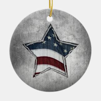 Estrelas e bares do ornamento