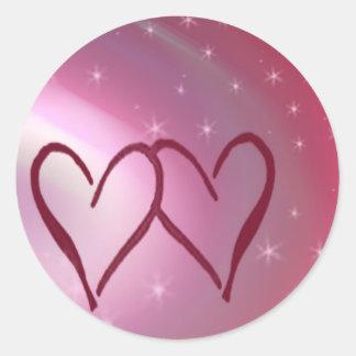 Estrelas e corações adesivo