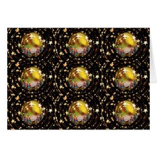Estrelas infantis de Jesus da Virgem Maria da ucha Cartão Comemorativo
