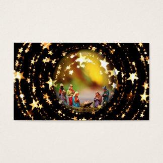 Estrelas infantis de Jesus da Virgem Maria da ucha Cartão De Visitas
