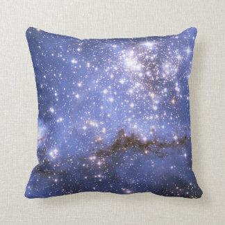 Estrelas infantis em galáxia vizinha almofada