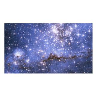 Estrelas infantis em galáxia vizinha cartao de visita