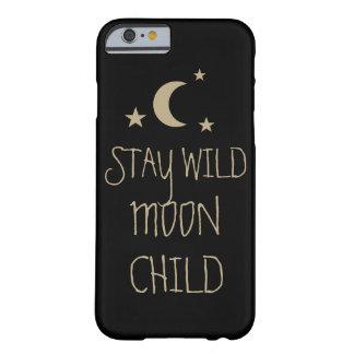 Estrelas inspiradas selvagens das citações da capa barely there para iPhone 6