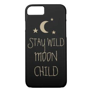 Estrelas inspiradas selvagens das citações da capa iPhone 7