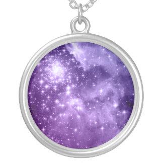 Estrelas mágicas roxas bijuterias personalizadas