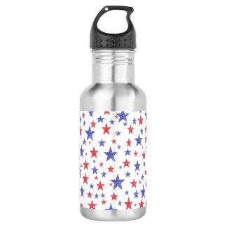 Estrelas patrióticas garrafa