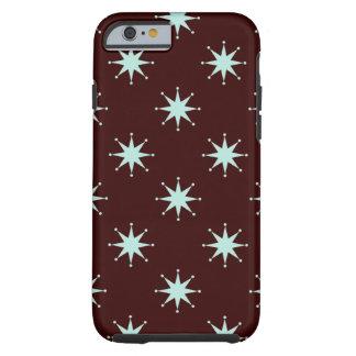 Estrelas retros customizáveis capa tough para iPhone 6