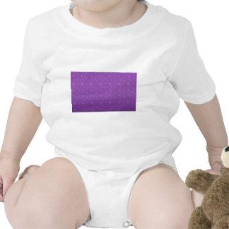 Estrelas roxas macacãozinhos para bebê