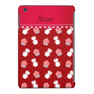 Estrelas vermelhas conhecidas personalizadas dos capa para iPad mini retina